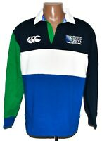 NEW ZEALAND 2011 RUGBY UNION SHIRT JERSEY CANTERBURY SIZE M #11 WORLD CUP