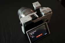 Sony Alpha a6000 Mirrorless 24.3MP Digital Camera - White - USED FREE SHIPPING