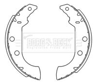 Borg & Beck Brake Shoe Set Shoes BBS6231 - BRAND NEW - GENUINE - 5 YEAR WARRANTY