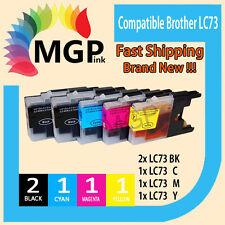 generic ink LC73 LC40 XL 5x For BROTHER MFC J430W J432W J625DW J825DW J6510DW