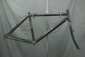 "Nashbar 5000xecutive MTB Bike Frame 18"" Large Hardtail Rigid Fork Canti Charity!"