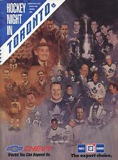 1991-92 Toronto Maple Leaf Official Game Magazine