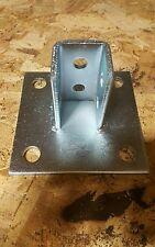 Unistrut 2072A SQ post base (2pcs) Zinc