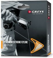 Greys Platinum Extreme Fly Fishing Line With Hi Vis Running Line #5 #6 #7 #8