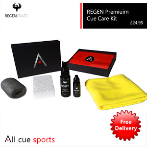 REGEN Cue Care Kit Gift Box Set - Snooker and Pool Cues