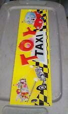 toy taxi arcade crane claw plexi marquee #1