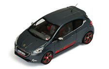 Ixo Models 1:43 MOC 175 Peugeot 208 GTi 2013 Le Mans Edition Metallic Grey NEW