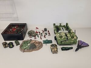 Massive Toy Soldier & Vehicle Bundle. Over 100 items.     WC