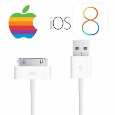 100% GENUINE APPLE iPhone 4 4S 3G 3GS IPOD & iPad 3 2 & 1 CHARGER USB LEAD CABLE