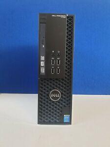 Dell Precison T1700 SFF Intel Xeon E3 1241@3.50Ghz 8GB 256GB SSD W10 Nvidia K620