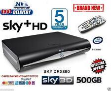 SKY HD BOX PLUS + HD BOX - 500GB - SKY AMSTRAD DRX890 BRAND NEW