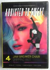 Brand New GIFT Ready Addicted to Sweat DVD Hard Candy Fitness 4 JawBreaker Chair