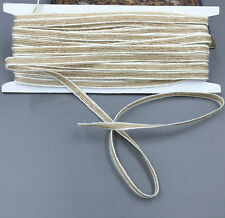 10M Hessian Burlap Craft Rope Ribbon Vintage Wedding Party Home Gift Decor