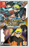 Nintendo Switch Naruto Shippuden: Ultimate Ninja Storm Trilogy Japan F/S