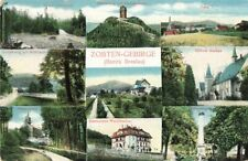 365595) Mehrbildkarte Zobten Gebirge Bez. Breslau Schlesien gel. 1915