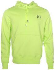 Champion Life Men's Super Fleece 2.0 Full Zip Hoodie Neon Light Green NWT Large