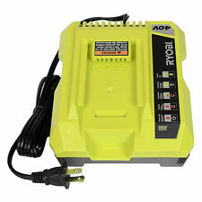 New Ryobi OP401 40V Li-Ion Battery Charger for OP4026 OP4030 Replaces OP400