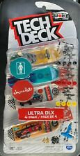 Tech Deck World Edition GIRL & CHOCOLATE Skateboards Ultra DLX 4-Pack