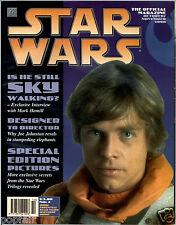 STAR WARS THE OFFICIAL MAGAZINE OCTOBER/NOVEMBER 1996  ISSUE NO.4 LUKE SKYWALKER