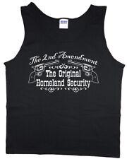 On Sale: LARGE Men's Tank top - 2nd Amendment Mens Clothing Tanks Sleeveless Tee
