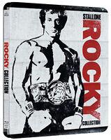 STALLONE ROCKY COLLEZIONE STEELBOOK 01-06 (6 BLU-RAY) EDIZIONE SPECIALE