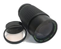 Quantaray 80-200 Auto Zoom f3.8 Camera Lens w/Case