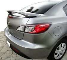MAZDA 3 SEDAN REAR BOOT SPOILER  2009 - 2013 (*UNPAINTED) - *BRAND NEW
