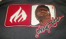 Johnny Blaze Hoodie Wu Tang Method Man In Logo MM size XL Vintage 90s Hip Hop