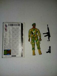 Sgt. Stalker V5 G.I. Joe Valor Vs Venom Loose And Complete