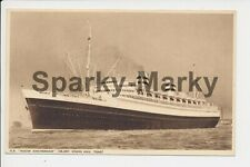 Steamship SS Nieuw Amsterdam RP Vintage Postcard C04
