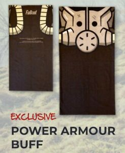 """FALLOUT """"POWER ARMOUR BUFF"""" TOWEL Crate #17 Seaside LootCrate Gaming Exclusive"""