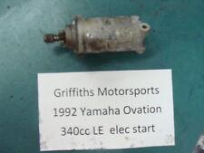 1992 92 YAMAHA OVATION 340 89E LE CS340E 93 94? electric start starter motor oem