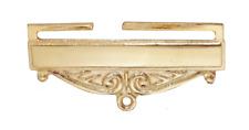Masonic Freemasonry Gilt Jewel Ribbon Bottom Bar