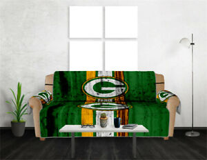 Green Bay Packers Slipcover Sofa Covers Pet Dog Couch Cover Furniture Protector