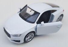 BLITZ VERSAND Audi TT Coupe 2014 weiß / white Welly Modell Auto 1:34-39 NEU OVP