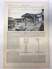 Otto Wire Ropeway, Gottesegan Colliery Antonienhutte: The Engineer 1889