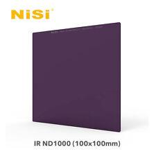 Nisi 100x100mm 10 Stop IR ND1000 3.0 4x4 Glass Insert Neutral Density ND Filter