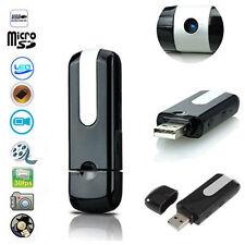 Hidden Mini USB Disk Flash Drive Spy Cam Camera Nanny HD DVR Video Recorder U8