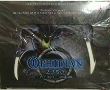 Ophidian 2350 Sealed Collectible Card Game 30 packs of 11 Booster Cards