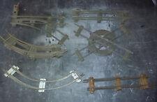Train O JdeP -  Lot de 14 Rails mécaniques - croisement - aiguillage HS - J de P