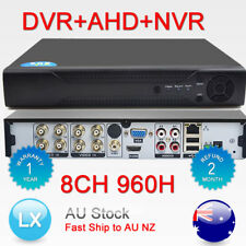 H.264 3in1 DVR+AHD+NVR 8ch DVR Cctv Security Digital Video Recorder Hybrid HDMI