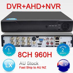 H.264 3in1 DVR+AHD+NVR 8ch DVR Cctv Security Digital Video Recorder Hybrid HDMI
