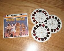Michael Jackson THE WIZ movie View-Master 3 reels 21 3D pictures 1978 Diana Ross