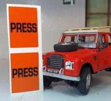 Kangol Sicherheitsgurt Presse Verschluss Aufkleber Land Rover Serie Defender