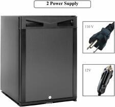 Smad 1.0 cu ft RV 12V Truck Camper Fridge AC/DC Mini Cooler Hotel Refrigerator