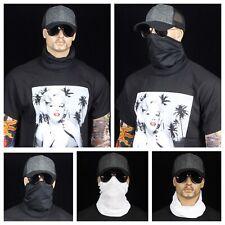 Men Women Tube Bandana Face Mask Snood Gaiter Neck Biker Head Wear Beanie Scarf