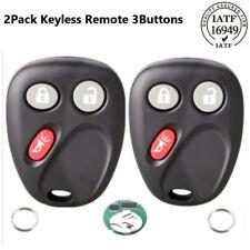 2 Keyless Entry Remote Key Fob LHJ011 for Saturn Vue 2004-2007 GMC Sierra 1500