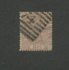 1875 Great Britain United Kingdom Queen Victoria 2 1/2 Penny Postage Stamp #66
