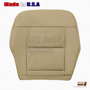 Fits 2011 2012 Mercedes Benz E350 E550 Tan Bottom Perforated Leather Seat Cover