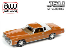 Auto World Cadillac Eldorado in Mandarin 1975 Orange 64312 A 1/64